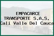 EMPACARCE TRANSPORTE S.A.S. Cali Valle Del Cauca