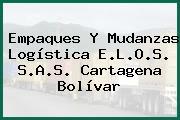 Empaques Y Mudanzas Logística E.L.O.S. S.A.S. Cartagena Bolívar