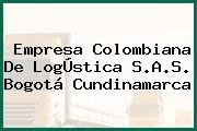 Empresa Colombiana De LogÚstica S.A.S. Bogotá Cundinamarca
