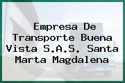 Empresa De Transporte Buena Vista S.A.S. Santa Marta Magdalena