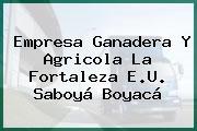Empresa Ganadera Y Agricola La Fortaleza E.U. Saboyá Boyacá