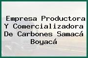 Empresa Productora Y Comercializadora De Carbones Samacá Boyacá