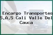 Encargo Transportes S.A.S Cali Valle Del Cauca