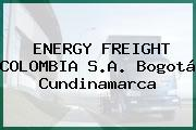 ENERGY FREIGHT COLOMBIA S.A. Bogotá Cundinamarca