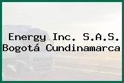 Energy Inc. S.A.S. Bogotá Cundinamarca
