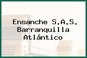 Ensanche S.A.S. Barranquilla Atlántico