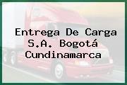 Entrega De Carga S.A. Bogotá Cundinamarca