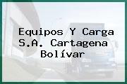 Equipos Y Carga S.A. Cartagena Bolívar