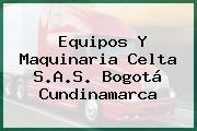 Equipos Y Maquinaria Celta S.A.S. Bogotá Cundinamarca
