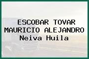 ESCOBAR TOVAR MAURICIO ALEJANDRO Neiva Huila