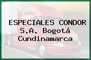 ESPECIALES CONDOR S.A. Bogotá Cundinamarca
