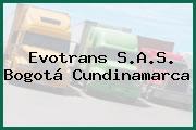 Evotrans S.A.S. Bogotá Cundinamarca
