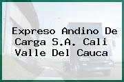Expreso Andino De Carga S.A. Cali Valle Del Cauca