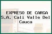 EXPRESO DE CARGA S.A. Cali Valle Del Cauca