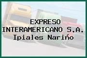 EXPRESO INTERAMERICANO S.A. Ipiales Nariño