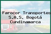 Farocor Transportes S.A.S. Bogotá Cundinamarca