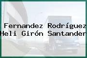 Fernandez Rodríguez Heli Girón Santander