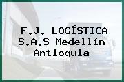 F.J. LOGÍSTICA S.A.S Medellín Antioquia