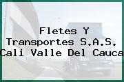 Fletes Y Transportes S.A.S. Cali Valle Del Cauca