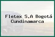 Fletex S.A Bogotá Cundinamarca