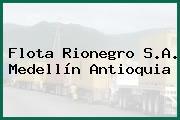 Flota Rionegro S.A. Medellín Antioquia
