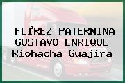 FLµREZ PATERNINA GUSTAVO ENRIQUE Riohacha Guajira
