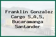 Franklin Gonzalez Cargo S.A.S. Bucaramanga Santander