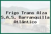 Frigo Trans Alza S.A.S. Barranquilla Atlántico