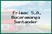Frimac S.A. Bucaramanga Santander