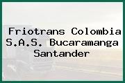 Friotrans Colombia S.A.S. Bucaramanga Santander
