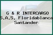 G & R INTERCARGO S.A.S. Floridablanca Santander