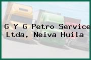 G Y G Petro Service Ltda. Neiva Huila