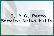 G. Y G. Petro Service Neiva Huila