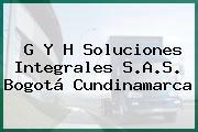 G Y H Soluciones Integrales S.A.S. Bogotá Cundinamarca