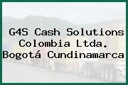 G4S Cash Solutions Colombia Ltda. Bogotá Cundinamarca