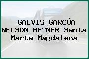GALVIS GARCÚA NELSON HEYNER Santa Marta Magdalena