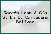 Garcés León & Cía. S. En C. Cartagena Bolívar