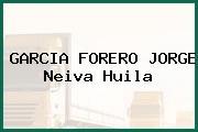 GARCIA FORERO JORGE Neiva Huila