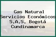 Gas Natural Servicios Económicos S.A.S. Bogotá Cundinamarca