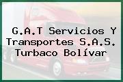 G.A.T Servicios Y Transportes S.A.S. Turbaco Bolívar