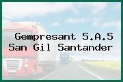 Gempresant S.A.S San Gil Santander