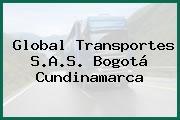 Global Transportes S.A.S. Bogotá Cundinamarca