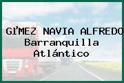GµMEZ NAVIA ALFREDO Barranquilla Atlántico