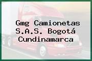 Gmg Camionetas S.A.S. Bogotá Cundinamarca