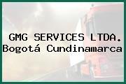 GMG SERVICES LTDA. Bogotá Cundinamarca