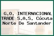 G.O. INTERNACIONAL TRADE S.A.S. Cúcuta Norte De Santander