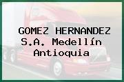 GOMEZ HERNANDEZ S.A. Medellín Antioquia
