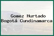 Gomez Hurtado Bogotá Cundinamarca