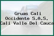 Gruas Cali Occidente S.A.S. Cali Valle Del Cauca