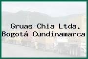 Gruas Chia Ltda. Bogotá Cundinamarca